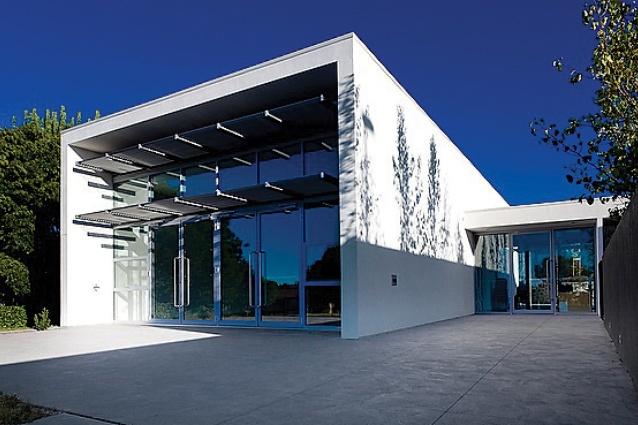 Bonython Community Hall by Collins Caddaye Architects.