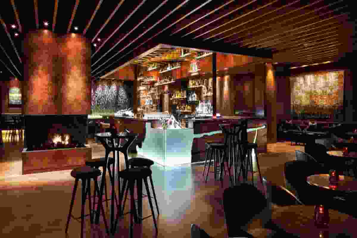 Grain (bar), Four Seasons Sydney by Dreamtime Australia Design.