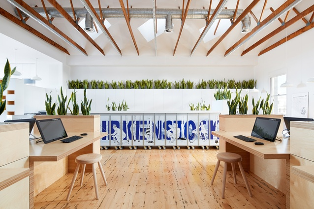 Birkenstock Australia Headquarters by Melbourne Design Studios (MDS).