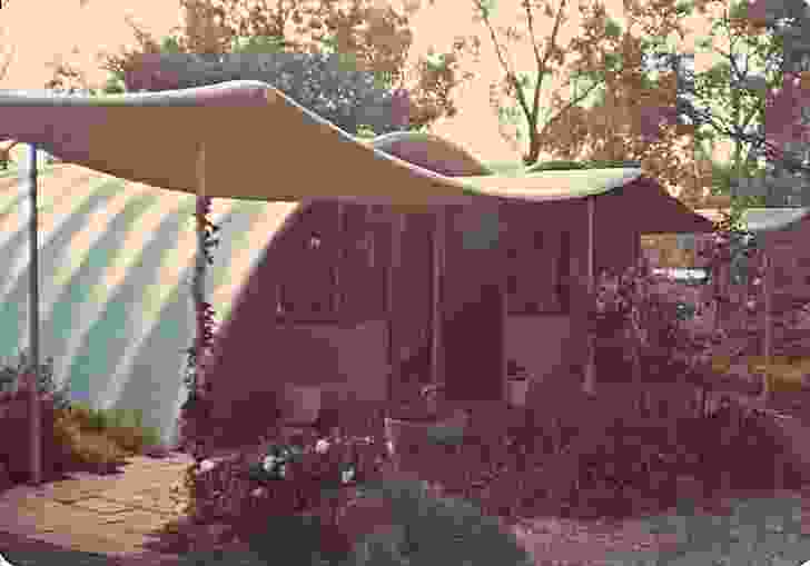 The secondary structure at the Rice House by Kevin Borland (1952–53).