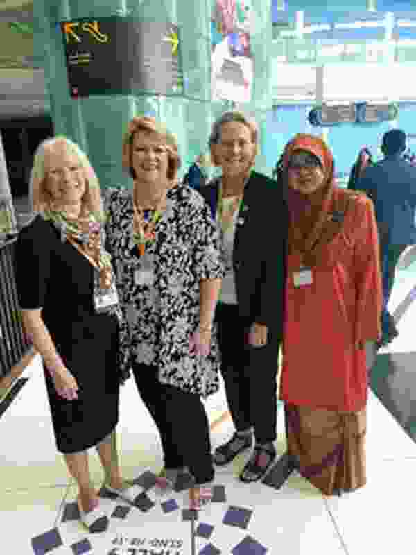 The author (second from right) with, from left, Royal Town Planning Institute (UK) president Sue Manns, Commonwealth Association of Planners president Dyan Currie and past national president of the Malaysian Planning Institute Khairiah Talha.