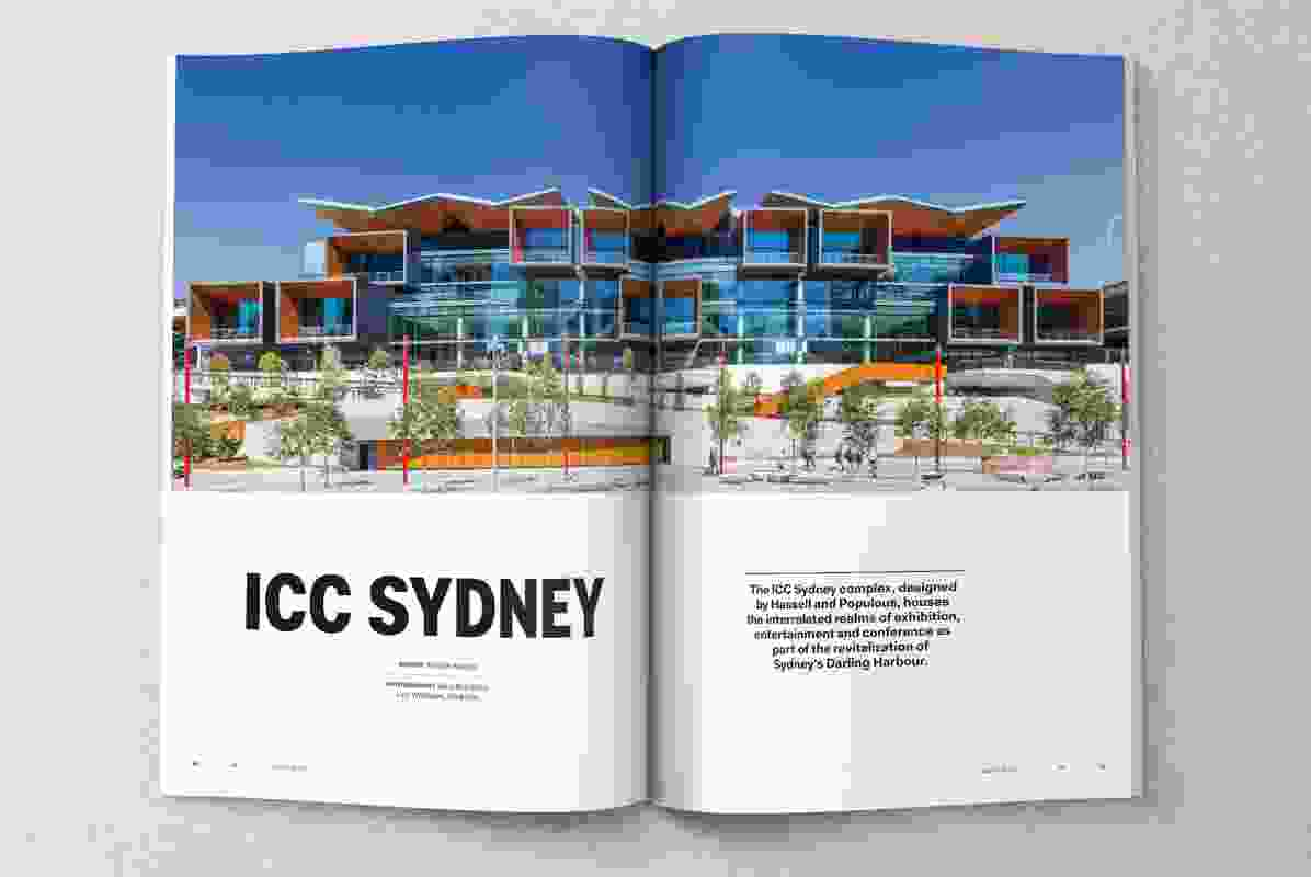 ICC Sydney designed by Hassell and Populous.