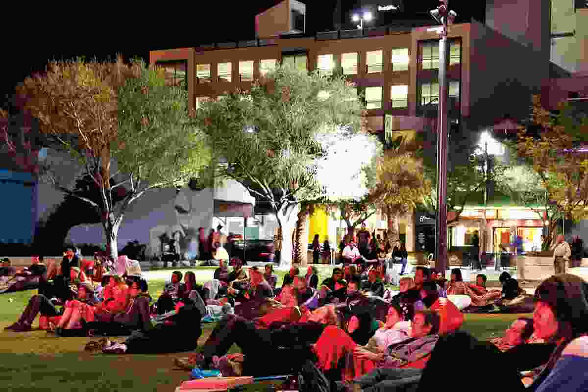 Live –  Northbridge Piazza by City of Perth