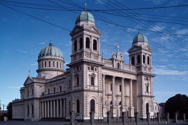 The Cathedral of the Blessed Sacrament is threatened with demolition.