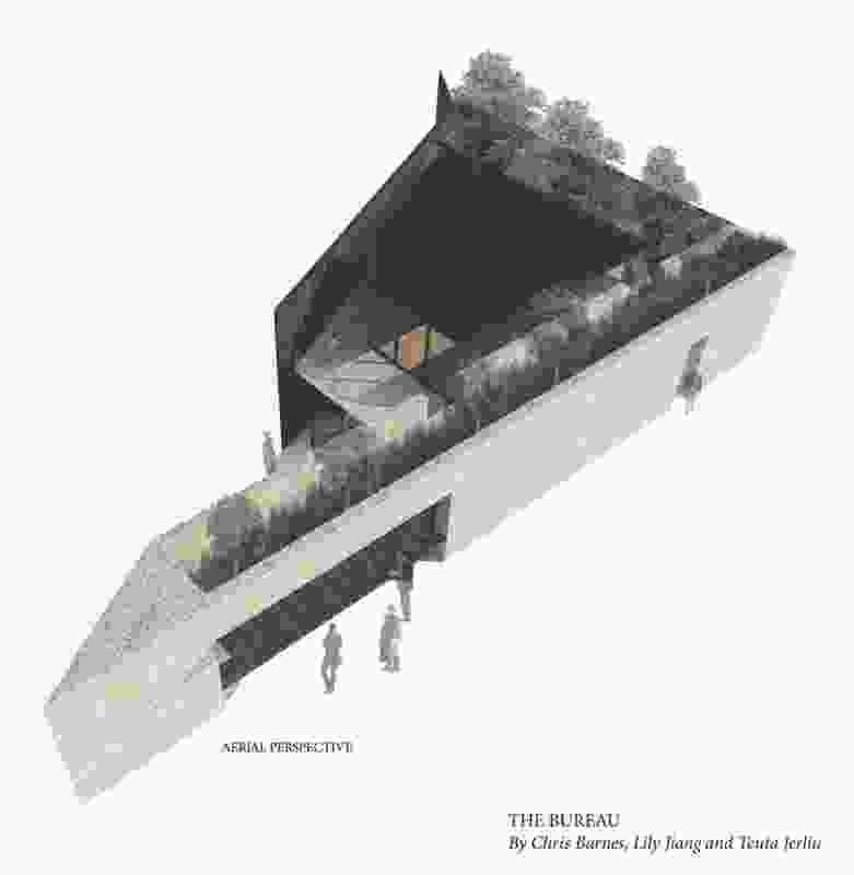 The Bureau by Chris Barnes, Teuta Jerilu and Lily Jiang.