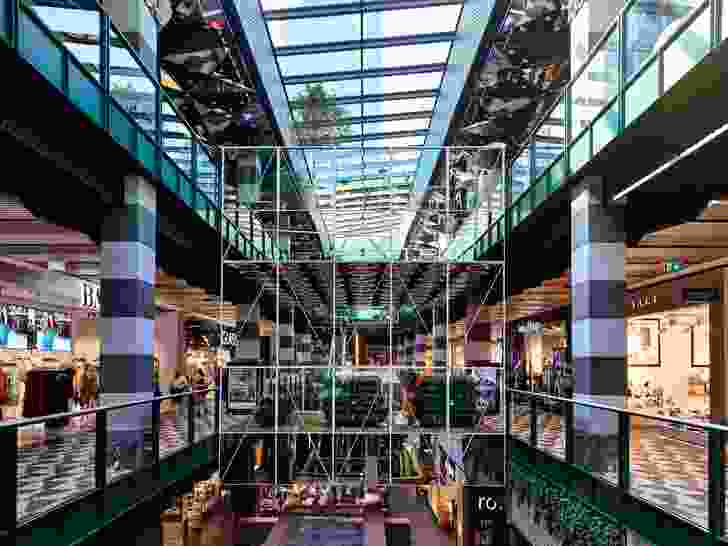 Melbourne Central Arcade by Kennedy Nolan.