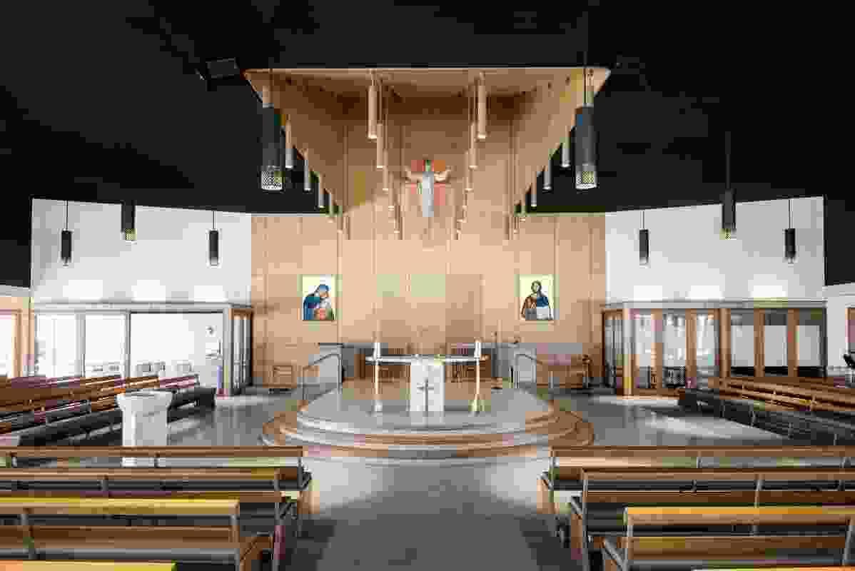 Stella Maris Catholic Church, Maroochydore by Deicke Richards.