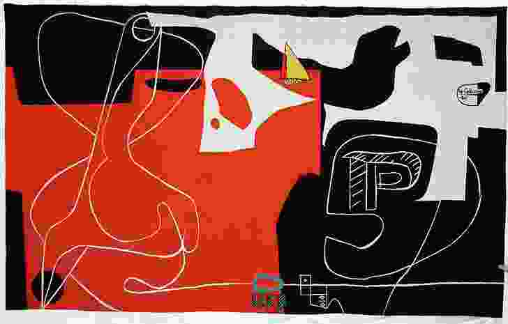 The tapestry Les Dés Sont Jetés ('The Dice Are Cast') by Le Corbusier was commissioned by Jørn Utzon for the Sydney Opera House in 1958.