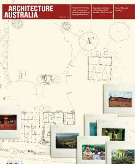 Architecture Australia, September 2008