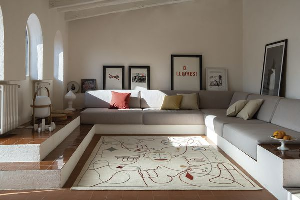 Silhouette indoor and outdoor rugs from Nanimarquina