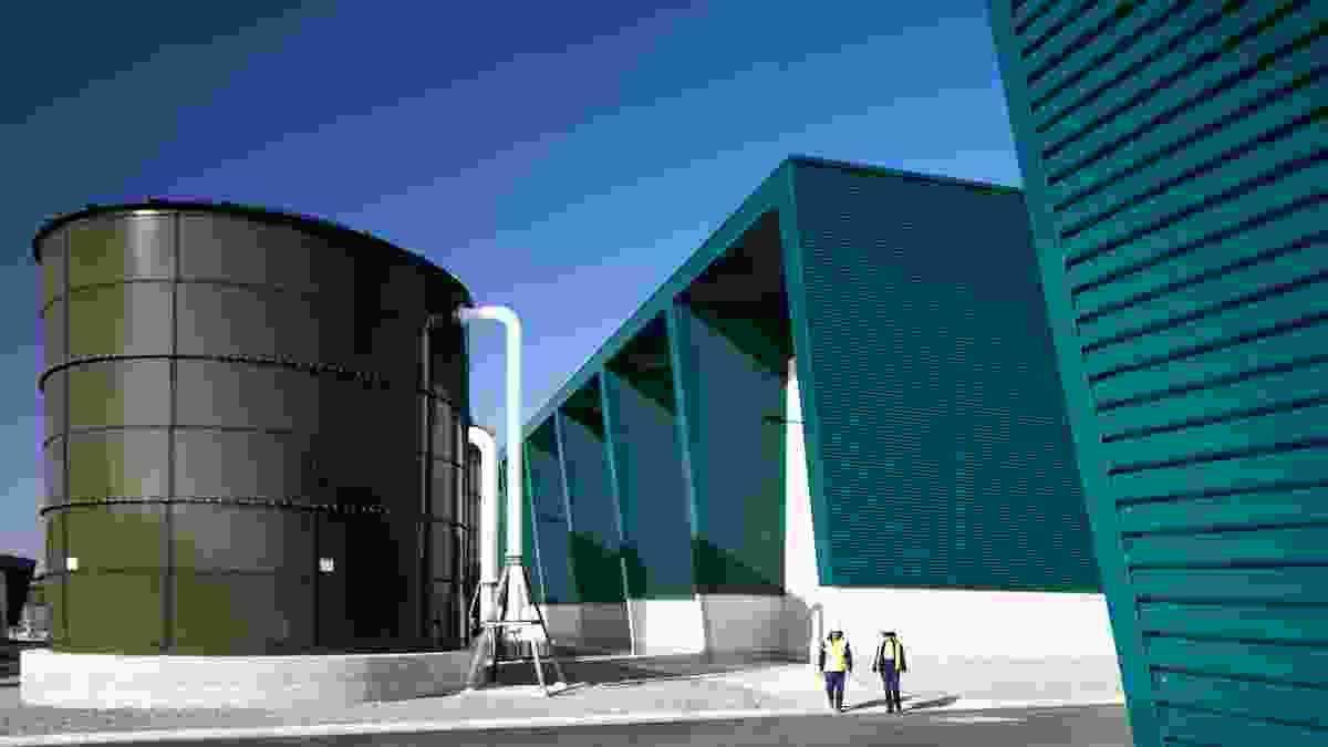 Commercial: Southern Seawater Desalination Plant by Parry and Rosenthal Architects.
