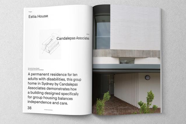 Estia House designed by Candalepas Associates.