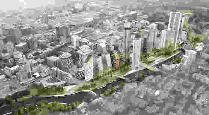Parramatta City River Strategy by McGregor Coxall