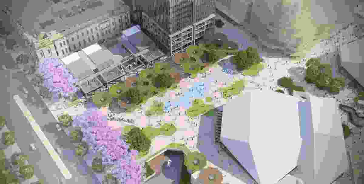 Proposed redevelopment of Adelaide Festival Plaza designed by ARM Architecture and Taylor Cullity Lethlean.
