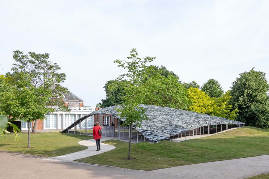 Serpentine Pavilion 2019 Designed by Junya Ishigami, Serpentine Gallery, London