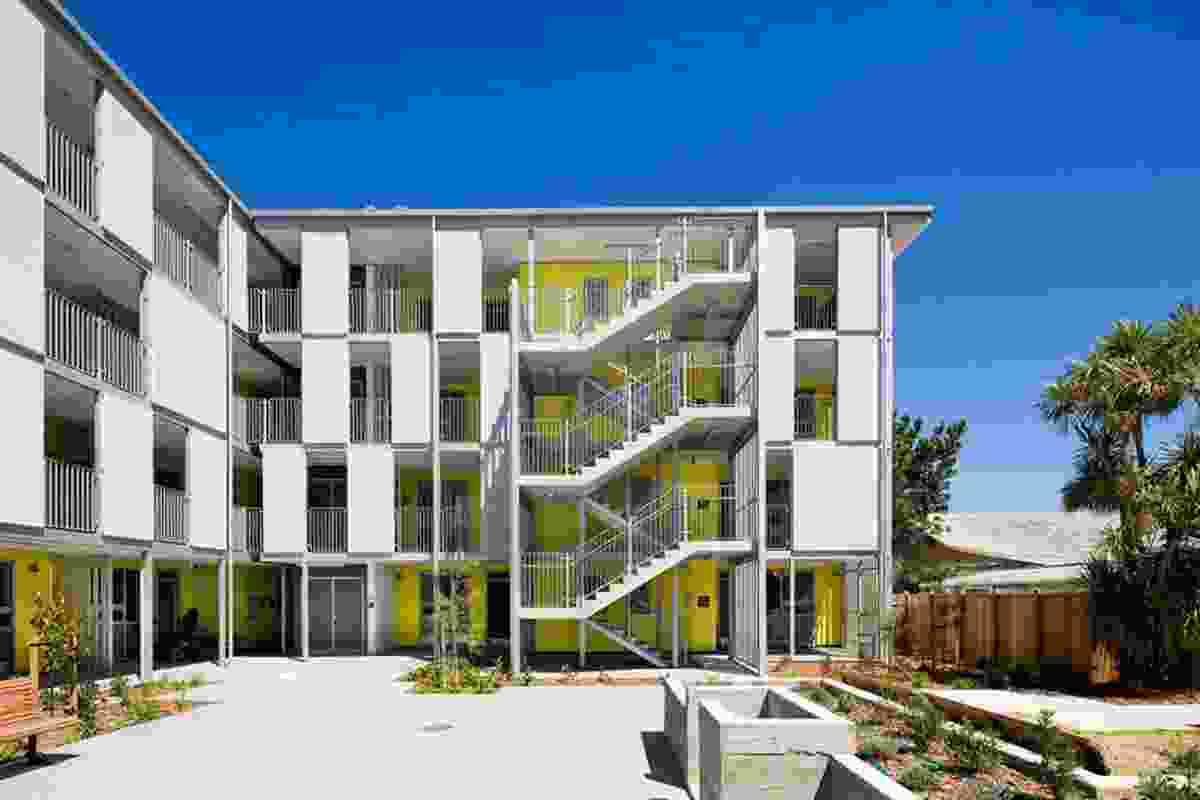 Housing - Multi Unit category finalist: Marshall Court Apartments for City Housing WCC, Wellington, by Designgroup Stapleton Elliott.