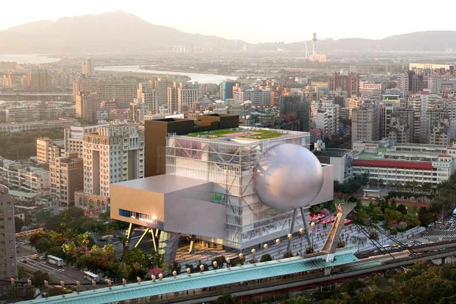 Taipei Performing Arts Centre.