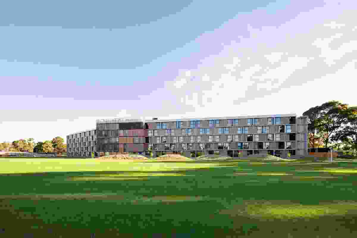 Frederick Romberg Award for Multiple Housing – Monash University Student Housing, Clayton by BVN Architecture.