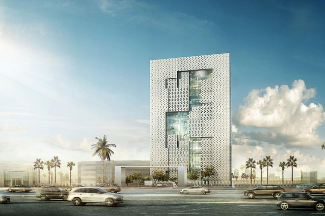 Kacst Headquarters by LAVA in Saudi Arabia.