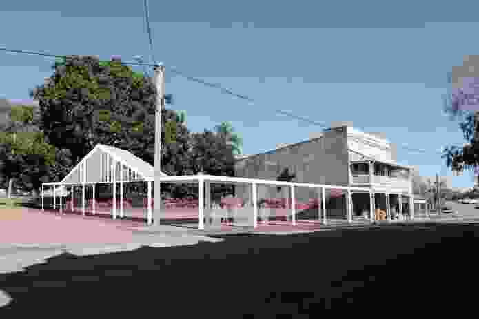 Ravenswood Town Square, Queensland, by Regional Design Service.