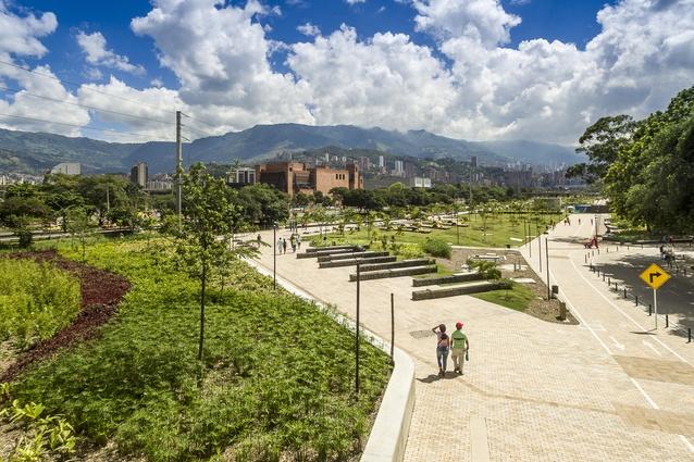 Medellin River Parks by Sebastián Monsalve Arquitectura.