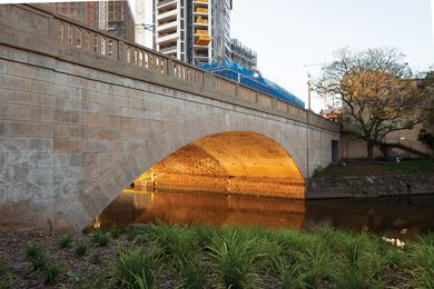 Lennox Bridge Portals by Hill Thalis Architecture and Urban Projects.