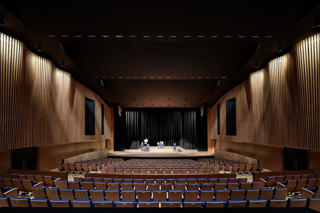 Presbyterian Ladies College Performing Arts Centre by Cox Architecture.