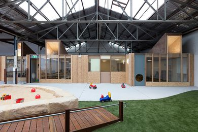 Camperdown Childcare by CO-AP (Architects).