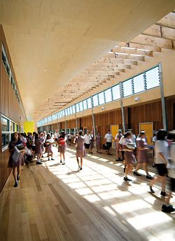 Williamstown High School, by Spowers, winner of the Best School Overall and Best Secondary College (new or redeveloped).