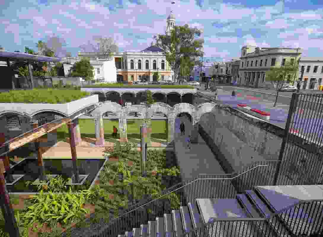 Paddington Reservoir by JMD Design and Tonkin Zulaikha Greer for City of Sydney, 2009.