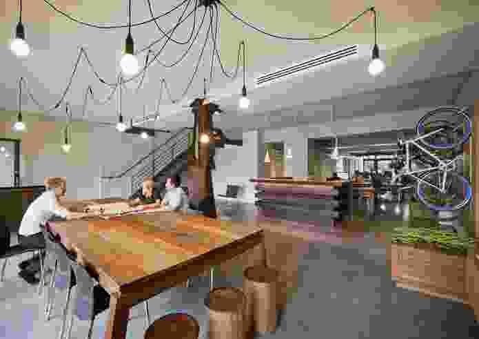 Interior, Colorbond: Oxigen Halifax Studio by Oxigen with Woods Bagot.
