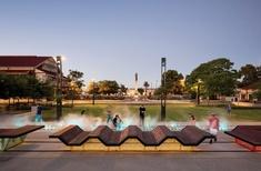 New heritage: Railway Square