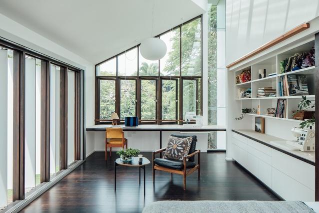 Yeronga House by Tim Bennetton Architects.