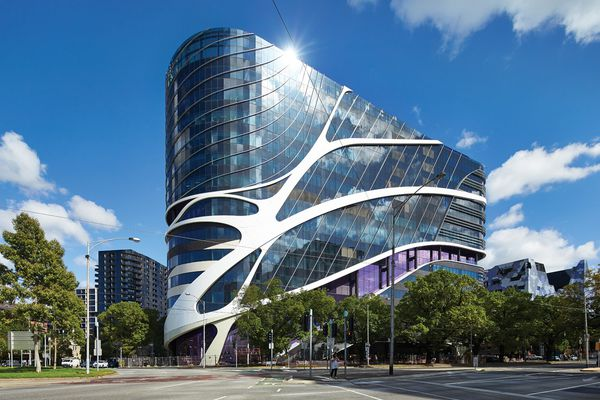 The Victorian Comprehensive Cancer Centre by Silver Thomas Hanley, DesignInc and McBride Charles Ryan.