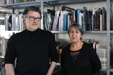 Jean Philippe Vassal and Anne Lacaton.
