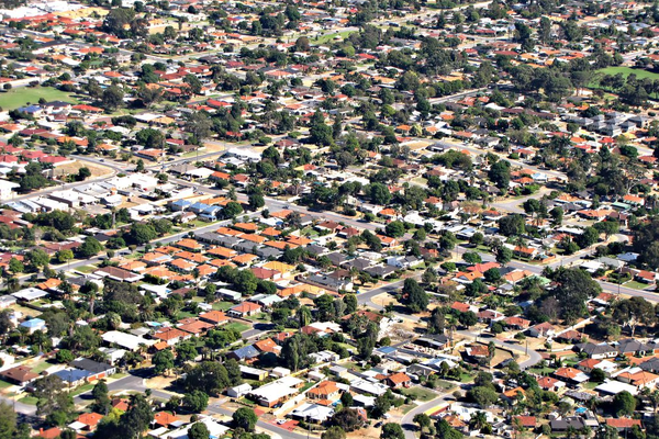 The population densities of most Australian cities are among the lowest in the world.