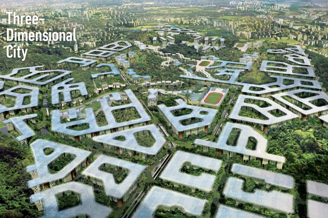 Richard Hassell discussed WOHA's masterplan for a self-sufficient new town in northern Jakarta that intends to house 210,000 people.