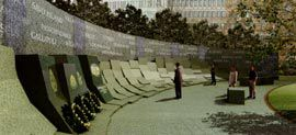 Overview of the contemplative space of the