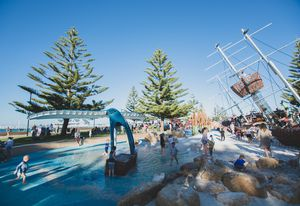 Sea Play on the Bay, Busselton by Plan E