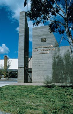 Australian War Memorial Annex, Mitchell, ACT, 1978–79.