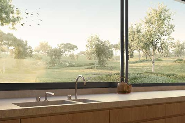 Alumiere sliding window by Stegbar
