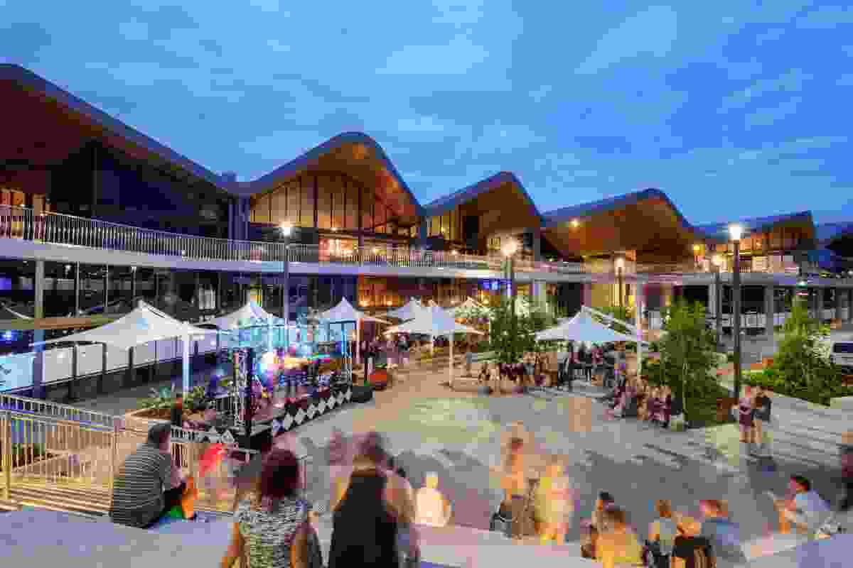 Robina Market Hall Redevelopment by The Buchan Group (architect) and ACME (concept design architect).