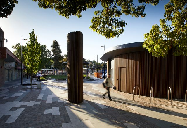 Croydon Town Square by Hansen Partnership
