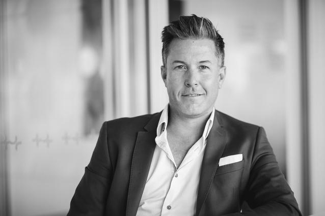 Caillin Howard, managing director, Hames Sharley.