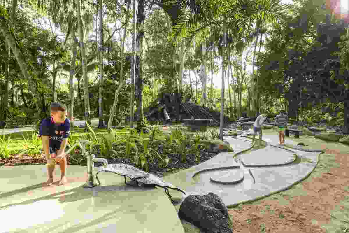 Centenary Lakes Nature Play by PAWA Architecture and LandPlan.