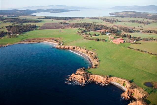 Murryfield Estate, Bruny Island, Tasmania.