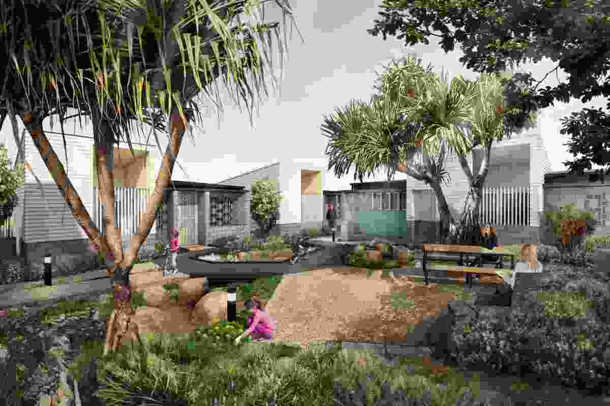 A proposed social housing demonstration project in Southport by Anna O'Gorman.