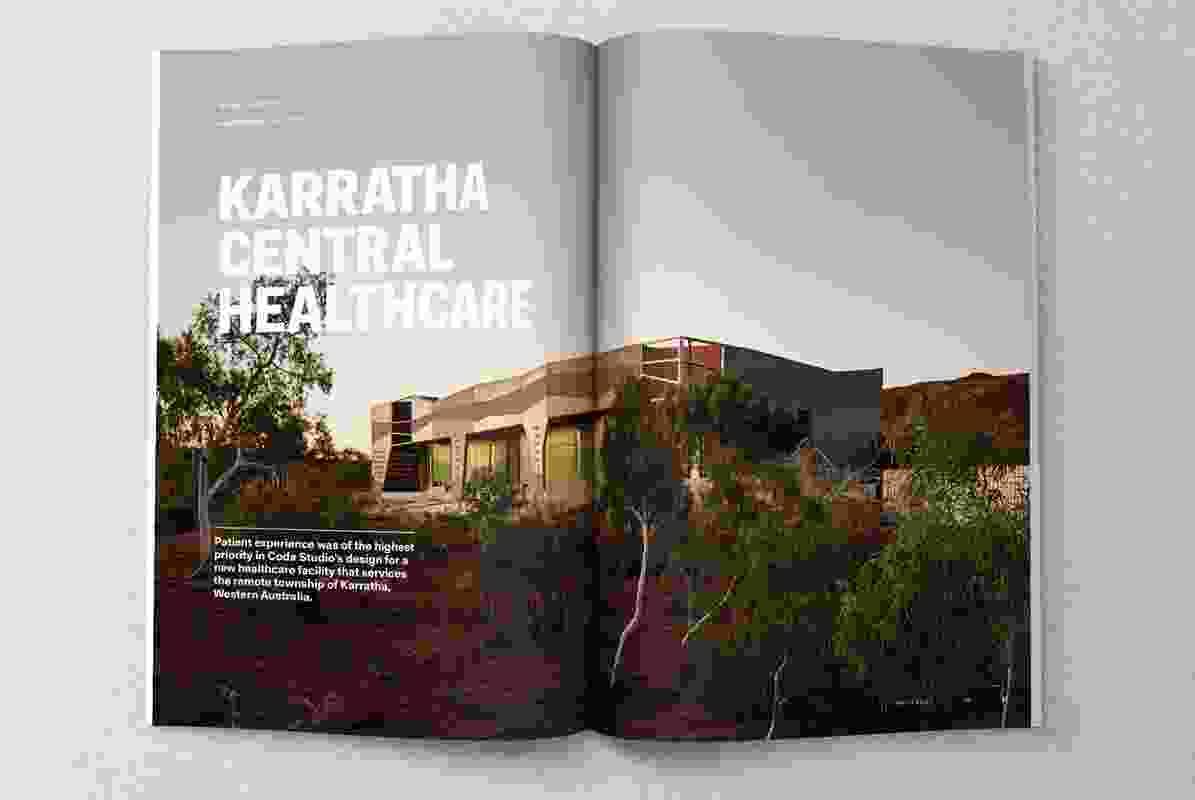 Karratha Central Healthcare designed by Coda Studio.