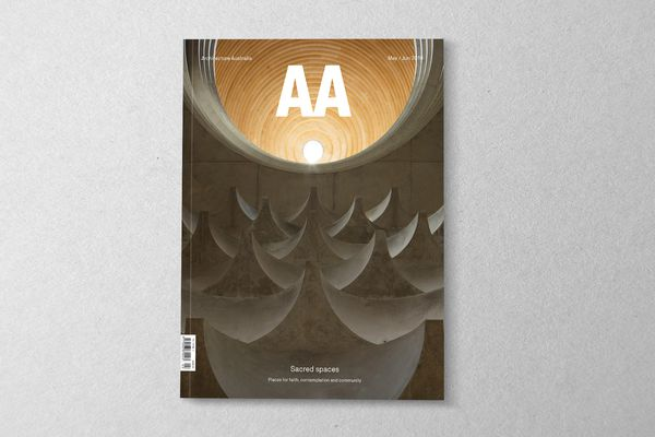 Architecture Australia May/June 2019.