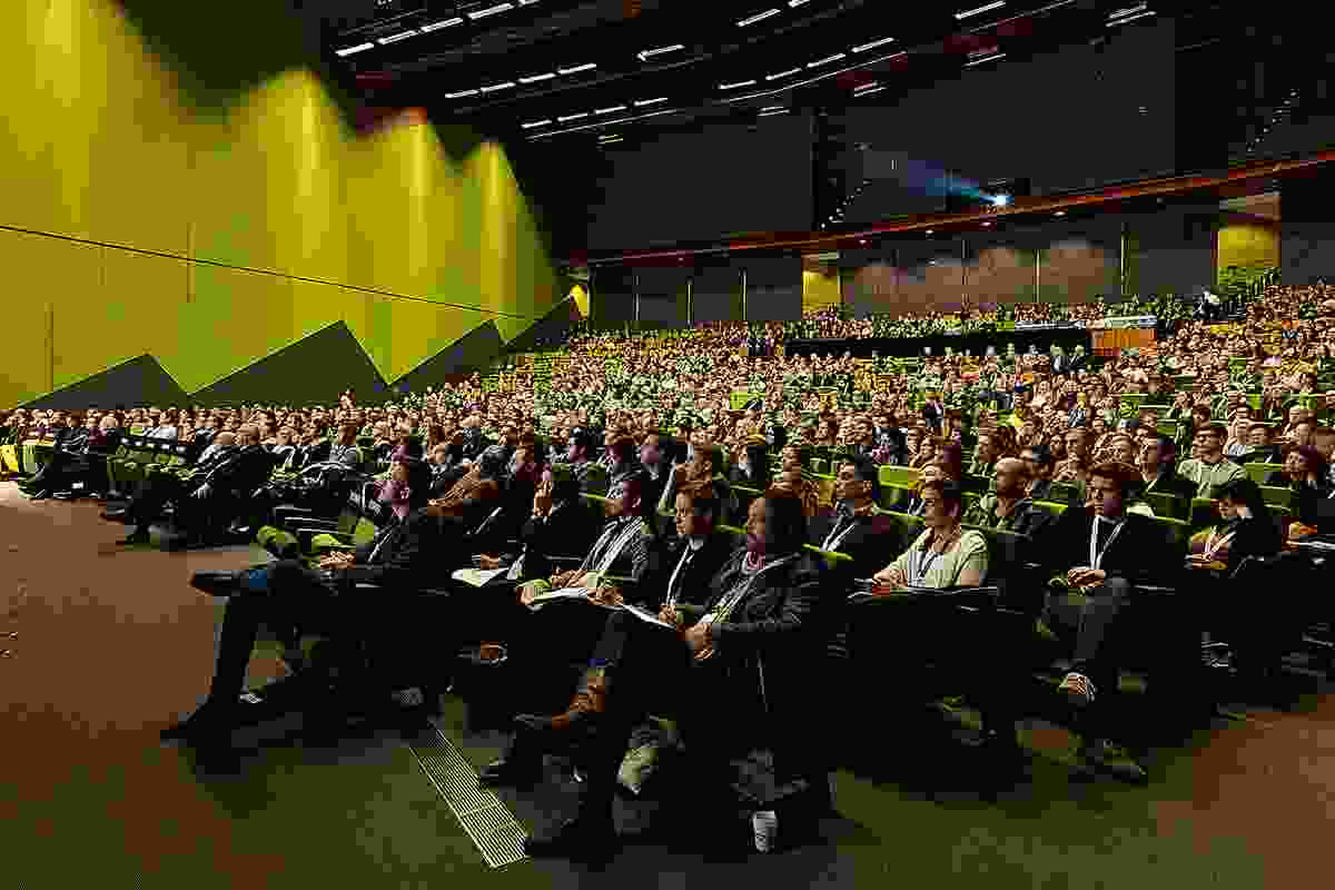 The 2013 conference at Melbourne Convention and Exhibition Centre.
